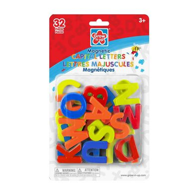 Grow'n Up 32pcs Magnetic Capital Letters