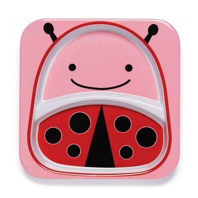 Skip Hop Zoo Tabletop - Plate - Ladybug
